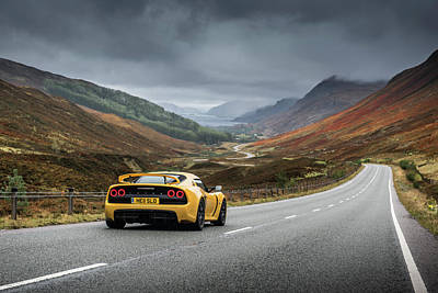 Photograph - Lotus Exige S by George Williams