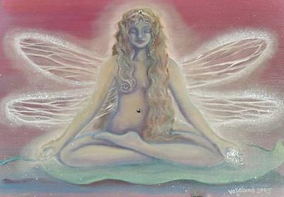 Mixed Media - Lotus Faerie Princess by Suzn Art Memorial