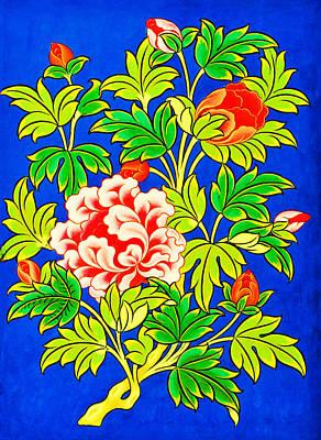 Vajrayana Painting - Lotus Flower by Lanjee Chee
