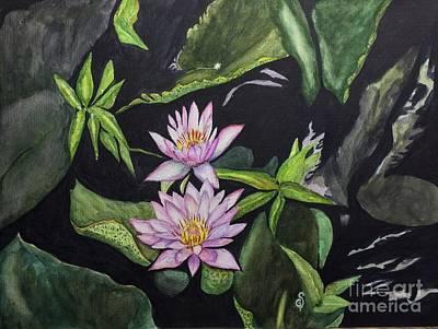 Painting - Lotus by Gita Vasa