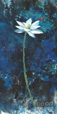 Lotus IIi Art Print by Mui-Joo Wee