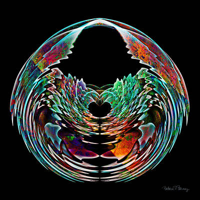 Lotus In A Bowl Art Print