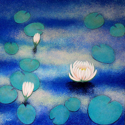 Painting - Lotus by K McCoy