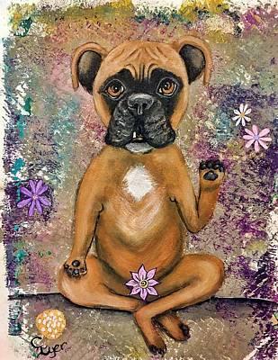 Wall Art - Painting - Lotus Lulu by Carol Iyer