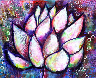 Painting - Lotus Magic by Jennifer Charton