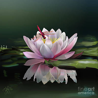 Lotus Meditation Art Print