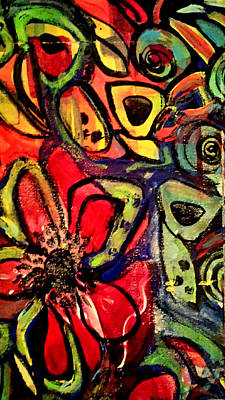 Painting - Lotus by Nikki Dalton