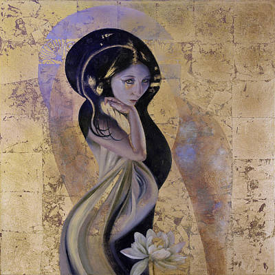 Painting - Lotus by Ragen Mendenhall