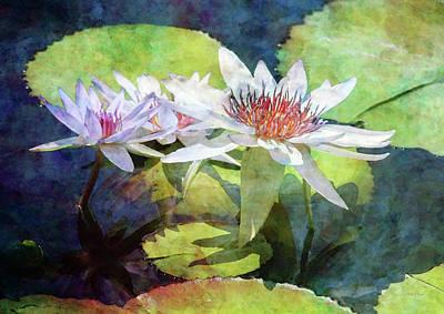Lotus Trio 2923 Idp_2 Art Print