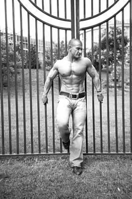 Photograph - Lou Astri The Gate by Jake Hartz