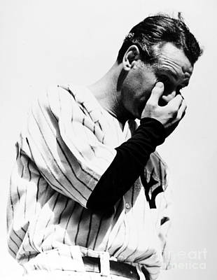 Lou Gehrig Photograph - Lou Gehrig (1903-1941) by Granger