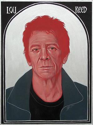 Painting - Lou Reed 2 by Jovana Kolic