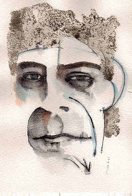 Underground Painting - Lou Reed by Mark M  Mellon