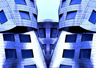 Photograph - Lou Ruvo Center Close Up Mirror Image by Matt Harang