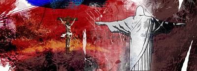 L'oublie De L'apocalypse Art Print by Francois Domain