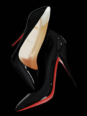 Louboutin Shoes Art Print by Donald Lawrence