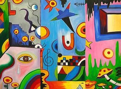 Gustavo Oliveira Painting - Louco by Gustavo Oliveira