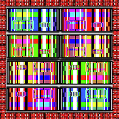 Digital Art - Loud Digits by Gordon Dean II