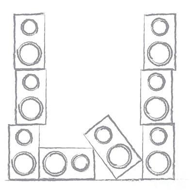 Digital Art - Loud Speakers by Benjamin Harte