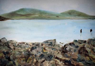 Painting - Lough Allen View / Leitrim Landscapes by Dawn Richerson