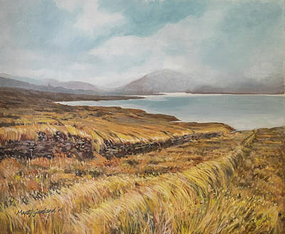 Painting - Lough Dun Luighe by Marty Garland