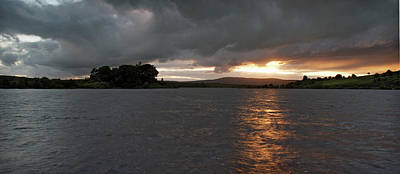 Photograph - Lough Fea Sunset by Colin Clarke