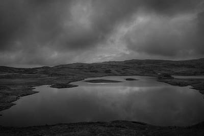 Photograph - Lough Na Crannagh by Alex Leonard