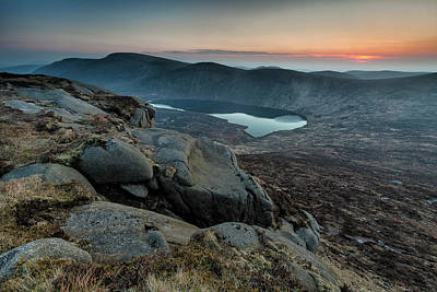 Photograph - Lough Shannagh From Doan by Glen Sumner
