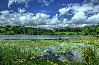 Loughrigg Tarn Art Print by Chris Whittle