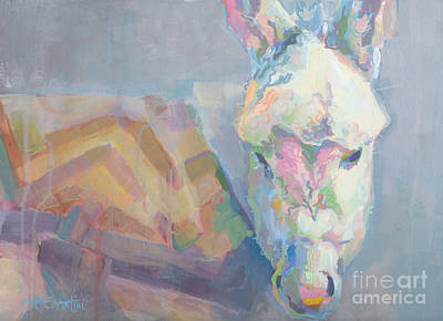 Foal Painting - Louie by Kimberly Santini