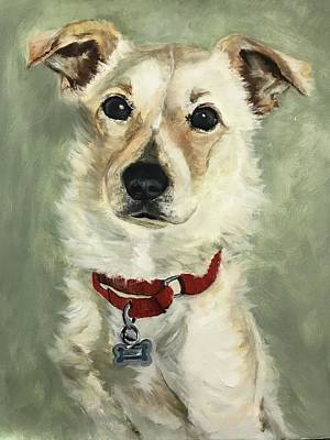 Painting - Louie by Lindsay Frost