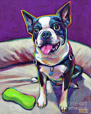 Painting - Louie by Robert Phelps