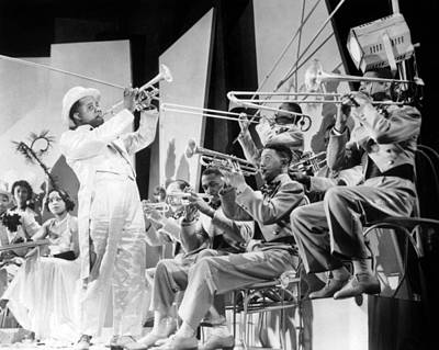 Trombone Photograph - Louis Armstrong by American School