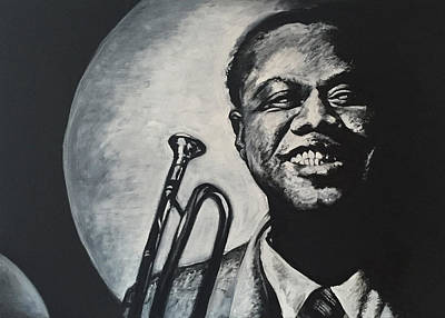 Louis Armstrong Painting - Louis Armstrong by Melissa O'Brien