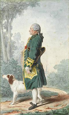 Drawing - Monsieur De Marguerie by Louis Carrogis Carmontelle
