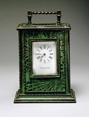 Photograph - Louis Comfort Tiffany Clock by Rospotte Photography