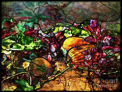 Louis Comfort Tiffany -  Pumpkin Chipotle Tartelette With Beetroot Jam And Chevre Art Print
