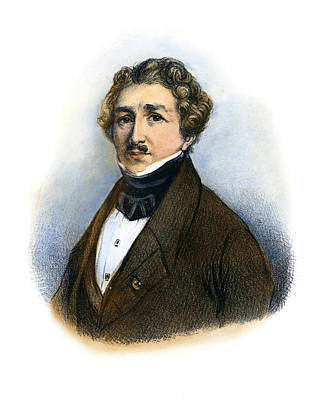 Drawing - Louis Daguerre by Granger