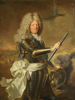 Painting - Louis De France, Dauphin, Known As The Grand Dauphin by Hyacinthe Rigaud