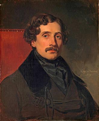Painting - Louis-felix Amiel by Eugene Deveria