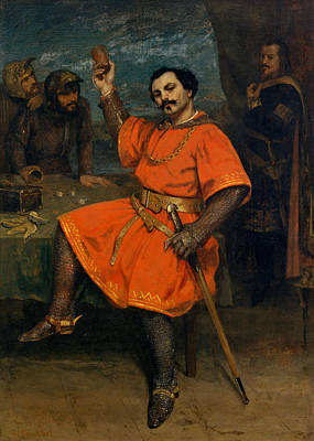 Painting - Louis Gueymard As Robert Le Diable, 1857 by Gustave Courbet