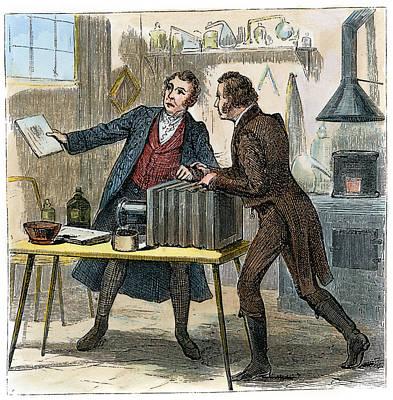 Drawing - Louis J.m. Daguerre by Granger