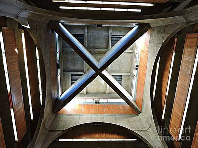 Photograph - Louis Kahn Library # 3 by Marcia Lee Jones