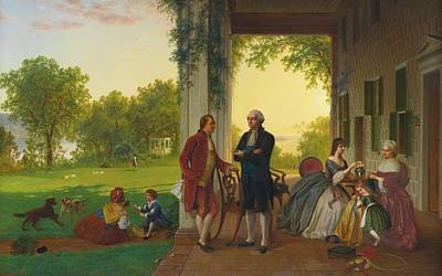 Mount Vernon Painting - Louis Remy Mignot by Thomas Pritchard