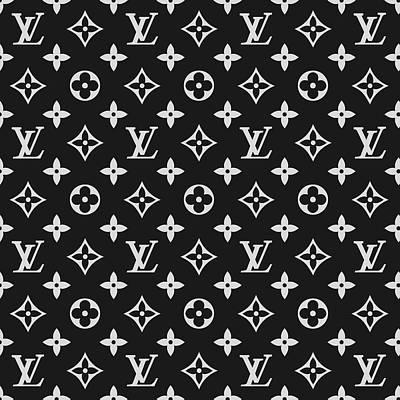 Noir Digital Art - Louis Vuitton 07 by Alta Vita