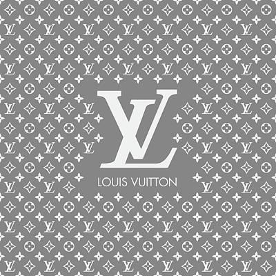 Noir Digital Art - Louis Vuitton 10 by Alta Vita