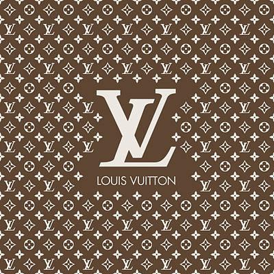 Noir Digital Art - Louis Vuitton 13 by Alta Vita