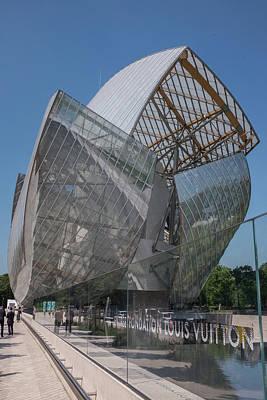 Photograph - Louis Vuitton Museum, Paris by Frank DiMarco