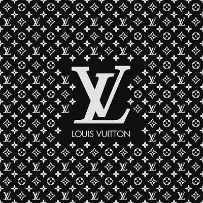 Louis Vuitton Wall Art - Digital Art - Louis Vuitton Pattern - Lv Pattern 11 - Fashion And Lifestyle by TUSCAN Afternoon