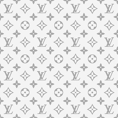 Louis Vuitton Wall Art - Digital Art - Louis Vuitton Pattern - Lv Pattern 14 - Fashion And Lifestyle by TUSCAN Afternoon
